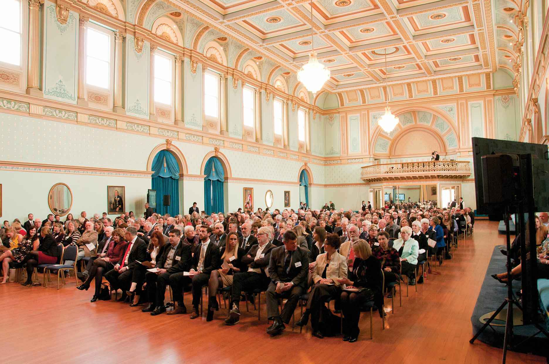 More than 350 members of the Landcare community attended the Victorian Landcare Awards at Government House in September.