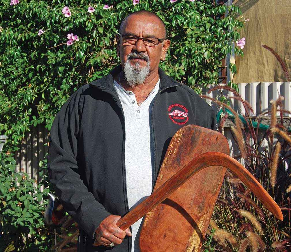 Educator and skilled bushman Allan Murray shared his Aboriginal heritage and knowledge of working with the Warby Range Landcare Group in one of the interviews.