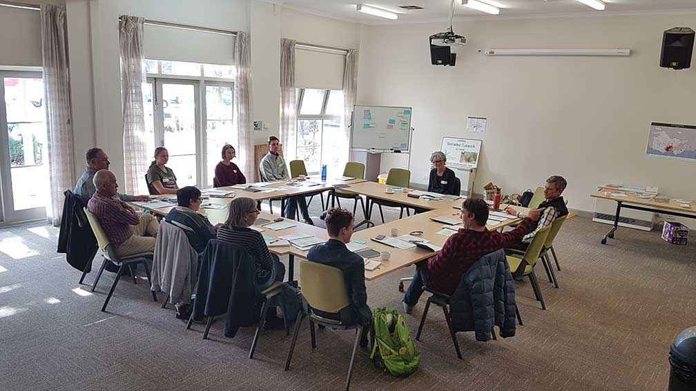 The serrated tussock workshop empowered participants to engage with their communities on raising awareness of weed management.