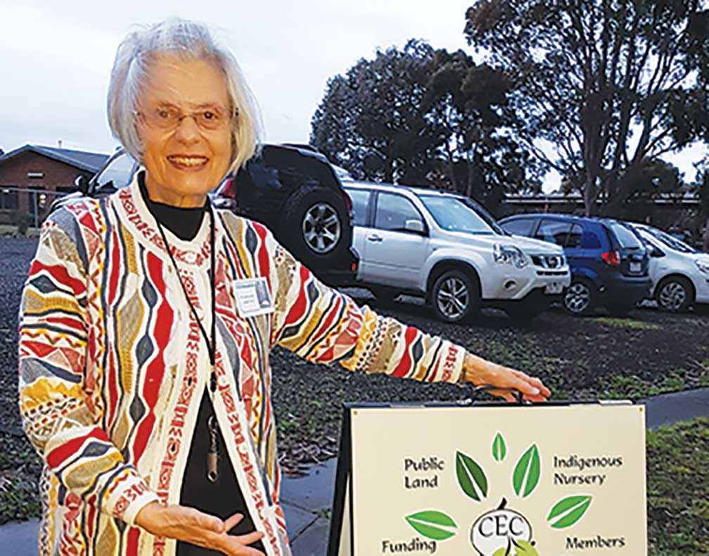 Elizabeth Fraser is proud of the achievements of the Cardinia Environment Coalition.